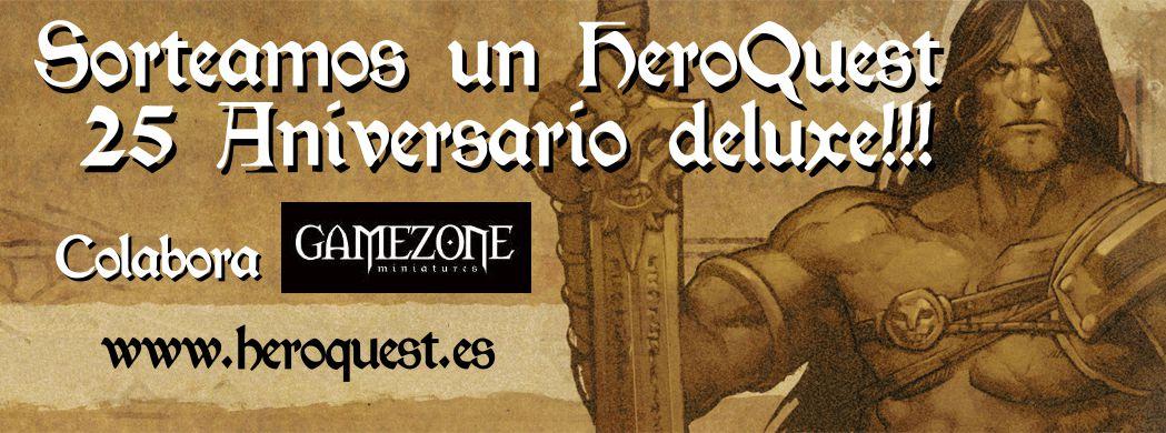 Sorteo HeroQuest 25 Aniversario