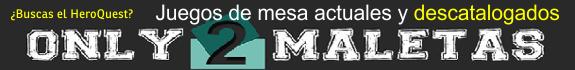 Only2Maletas - Juegos de tablero actuales y descatalogados